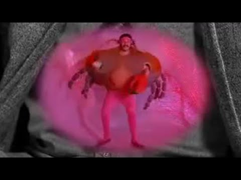 Howard the angry crab of trapped wind - The Mighty Boosh  - BBC comedy