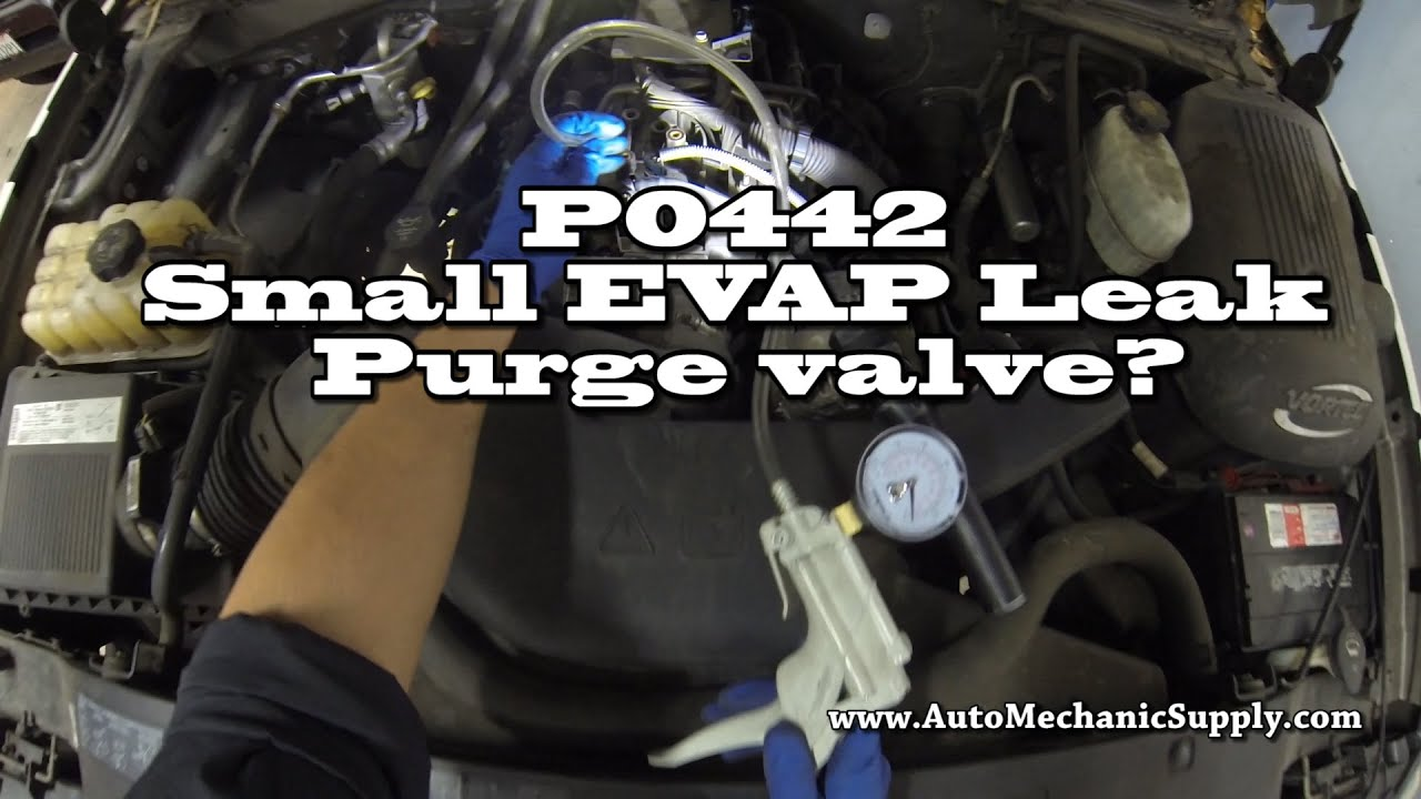 medium resolution of how to diagnose a p0442 small evap leak 04 chevy avalanche