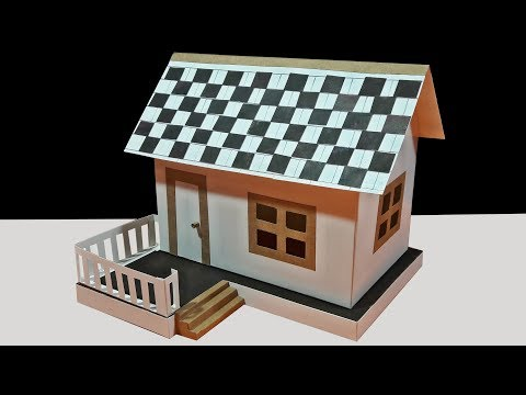 How To Make Beautiful Paper House Dream House-DIY Paper Dream House