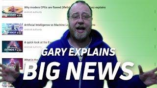 BIG NEWS! - Gary Explains