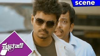 Vijay Catches Vidyut Jamwal Men - Thuppakki Movie Scenes
