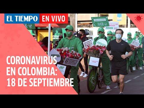 Coronavirus en Colombia: 18 de Septiembre
