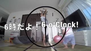 新しいリフティング技に挑戦! 6時だよ!(ター坊からの宿題) 6 o