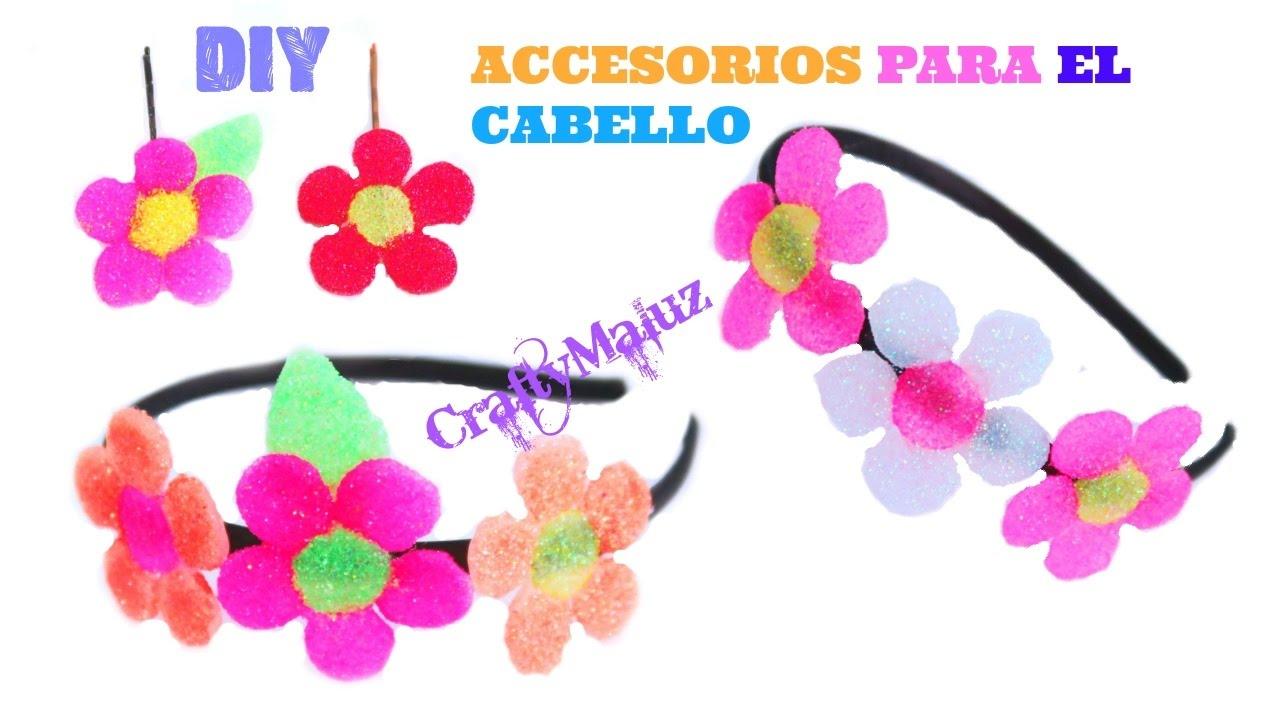 Haz Accesorios Para El Cabello Faciles Y Bonitos Diademas Para - Manualidades-nias