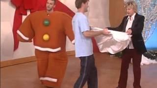 Джастин Тимберлейк на шоу Эллен Дедженерес (2003 год)