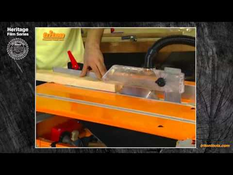 Basic Ripping With Triton Workcentre - Triton Heritage