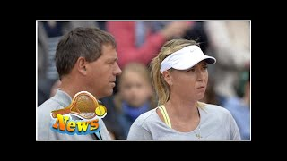 Maria sharapova splits with coach sven groeneveld