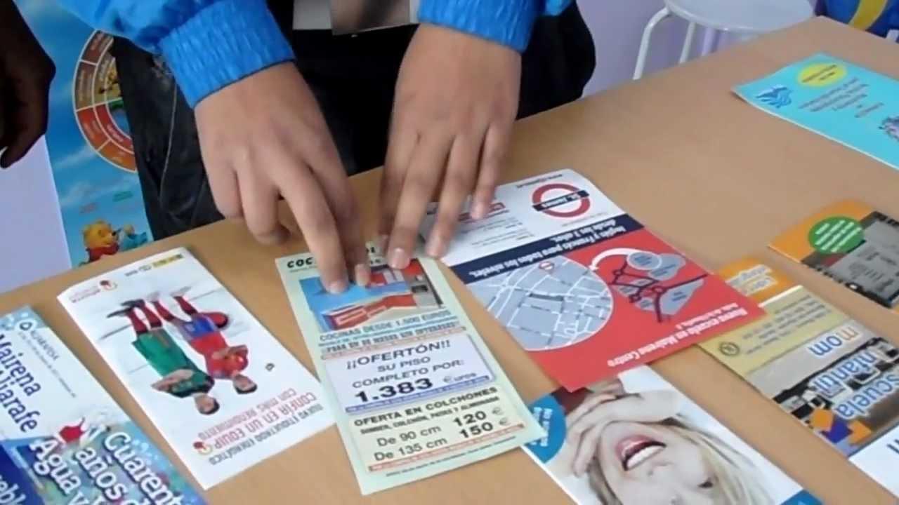 como hacer folletos