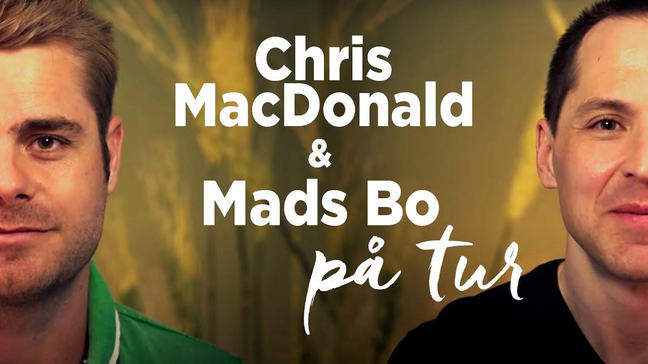 Topmoderne Chris MacDonald & Mads Bo på tur WH-08
