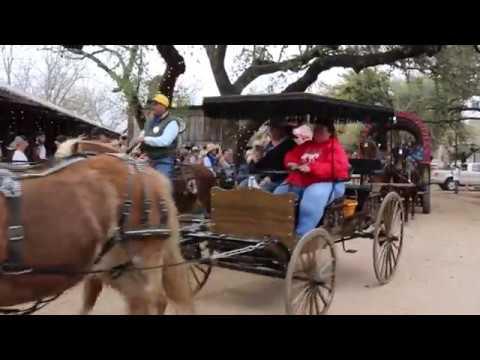 Luckenbach Covered Wagon Parade