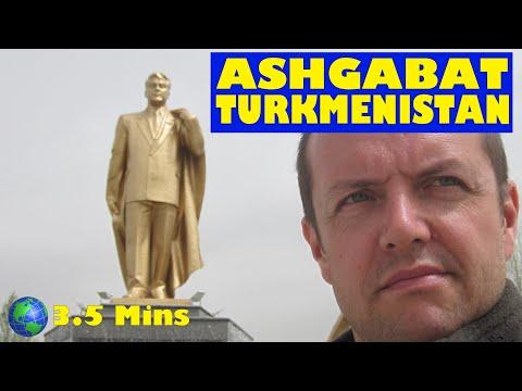 Ashgabat, TURKMENISTAN: a 3.5 Minute Video