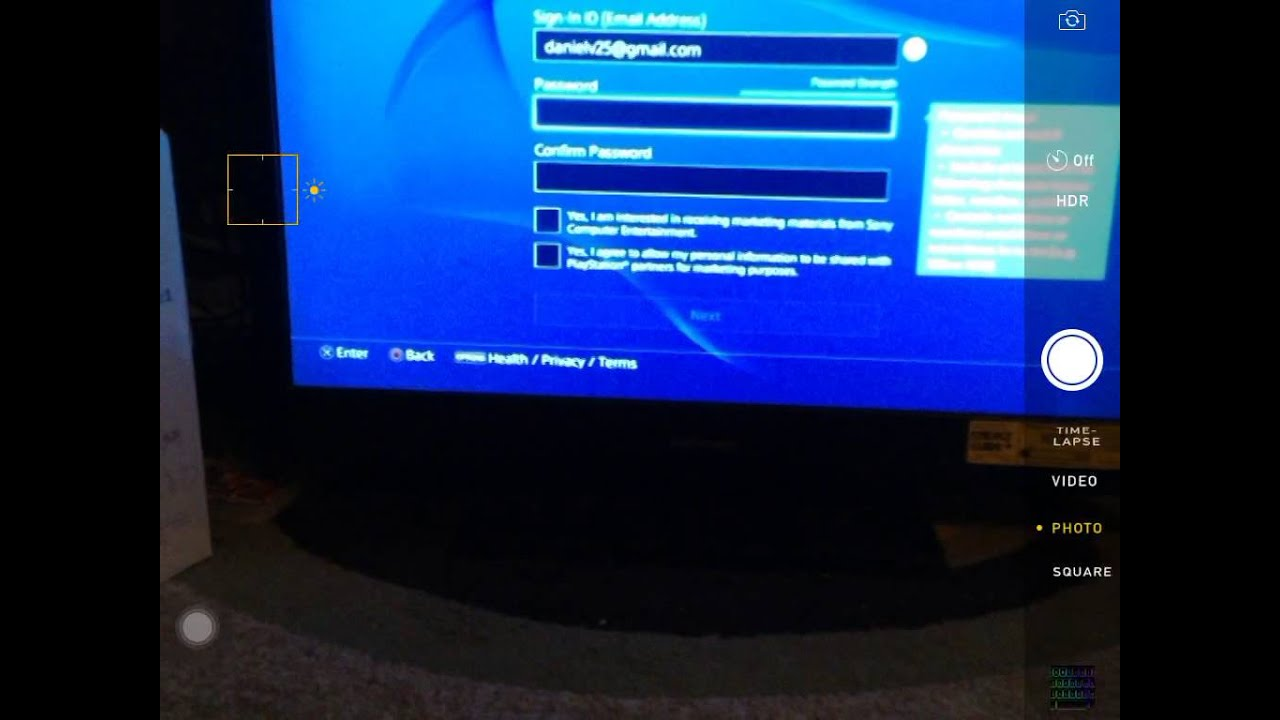 How to make a fake account on the PS four and play online and get free  PlayStation plus forever with