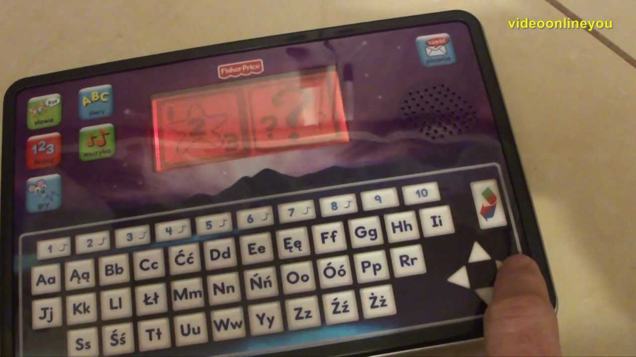Fisher Price Tablet Przedszkolaka Smart Tablet Youtube