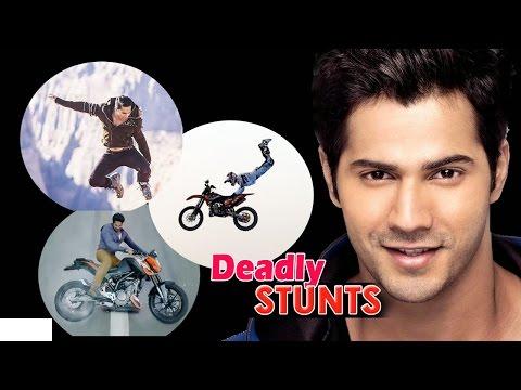 Varun Dhawan's Dangerous stunt for ABCD2