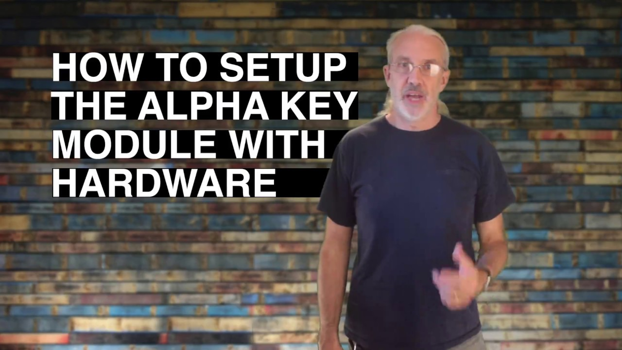 ProPresenter 6 Tutorial How to set up the alpha key module with hardware