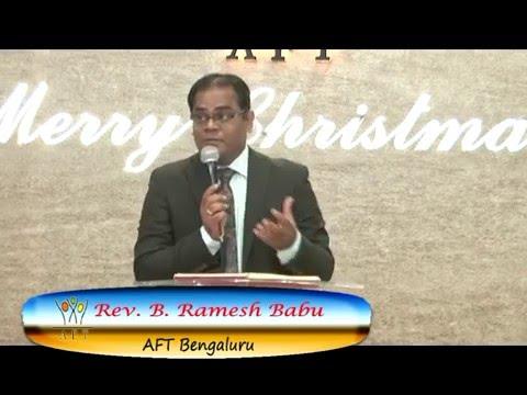 Pastor Ramesh AFT Bangalore Sermon Meditation#10