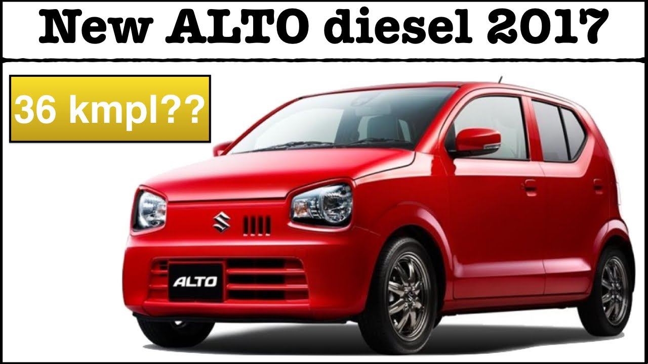 Maruti Suzuki Alto Diesel 2018 Model Details Launch Date Price