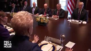 WATCH: President Trump meets with Baltic State leaders at the White House