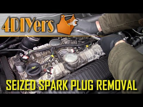 How to Remove Seized or Stuck Spark Plugs