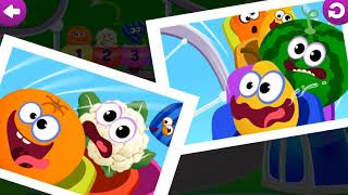 Funny Food 123! (EN) Kids Number Games for Toddlers/ English Games
