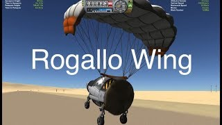 Landing Capsule Under An Inflatable Rogallo Wing