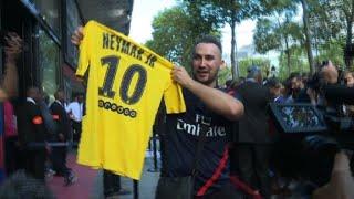 Neymar: branle-bas de combat devant la boutique PSG des Champs