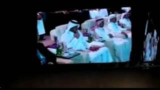 سعادة رئيس اللجنة الاولمبية القطرية الشيخ جوعان بن حمد يعلن افتتاح بطولة العالم للملاكمة الدوحة٢٠١٥