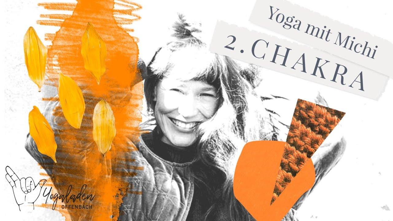 40 Min Yoga für mehr Gefühle & Veränderung I Sakralchakra (Svadhisthana) Flow I YLO Michi