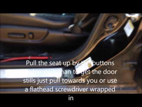Acura Tsx 09-14 Subwoofer Amp LOC Install