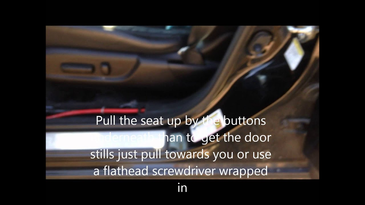 acura tsx 09 14 subwoofer amp loc install youtube 2004 ford explorer subwoofer  2004 acura tl subwoofer wiring