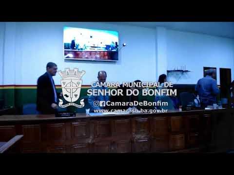 VEJA O RESUMO DA SESSÃO ORDINÁRIA DA CÂMARA MUNICIPAL DE SENHOR DO BONFIM DESTA TERÇA-FEIRA (05)