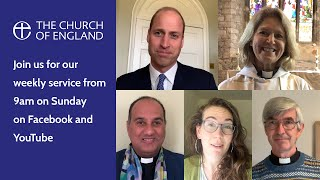 A service for Mental Health Awareness Week with a message from The Duke of Cambridge