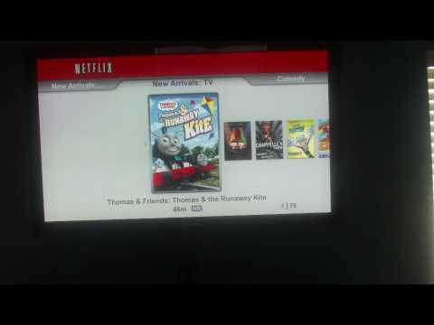 NETFLIX ON THE PS3 bd remote streaming wifi