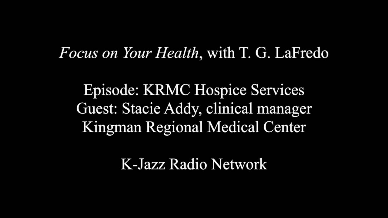 Hospice Nurse Quotes Focus On Your Health Krmc Hospice With Stacie Addy  Youtube