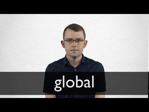How to pronounce GLOBAL in British English
