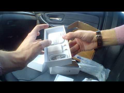 Распаковка посылки, два Iphone 6
