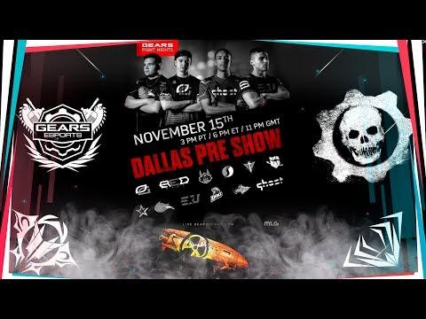 Gears Pro Circuit Dallas Open Pre Show | Gnasher Nuclear Skin !