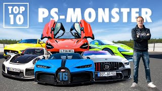 Die 8375 PS-Party | Ausrąsten im Bugatti Chiron, McLaren und BRABUS | Matthias Malmedie