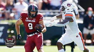 Auburn Tigers Vs. South Carolina Gamecocks | 2020 College Football Highlights