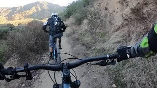Climbing up Brown Mountain (following Tom)