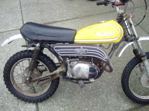 1977 yamaha gt 80 enduro start up youtube rh youtube com 1970 Yamaha MX 80 1973 Yamaha 80 Enduro