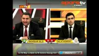 Drogba'nın golü GS TV'yi coşturdu - Akhisar 1-2 Galatasaray