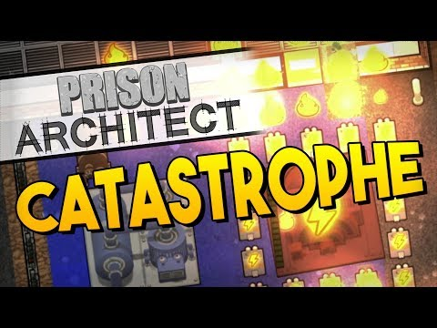 Prison Architect - CATASTROPHE! ★ Maximum Security, Staff needs, Temperature, Radiators, Boilers #7