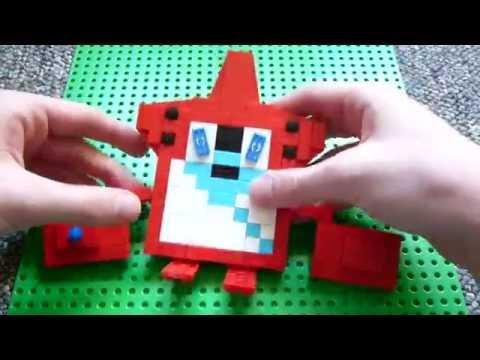 Lego Rotom Pokedex Pokemon Instructions Youtube