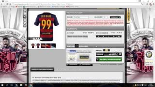 Как написать имя на футбольную форму(Ссылка на сайт http://www.fanandmore.de/, 2016-01-15T19:54:58.000Z)