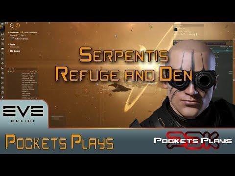 EVE Online: Serpentis Refuge And Den