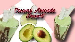 Creamy Avocado Dessert | Sobrang Yummy Promise !