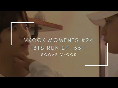 Vkook Moments #24 I BTS RUN Ep  55 I