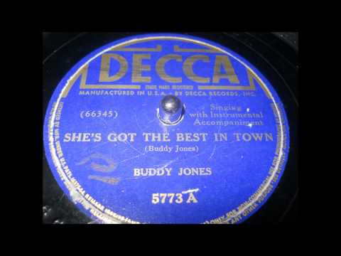 Buddy Jones - I'm in the doghouse now (1939)