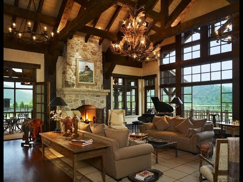 Living Dining and Patios Spaces  Granby Luxury Mountain